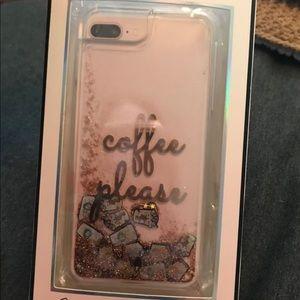 "Accessories - iPhone 7 Plus ""Coffee Please"" case"